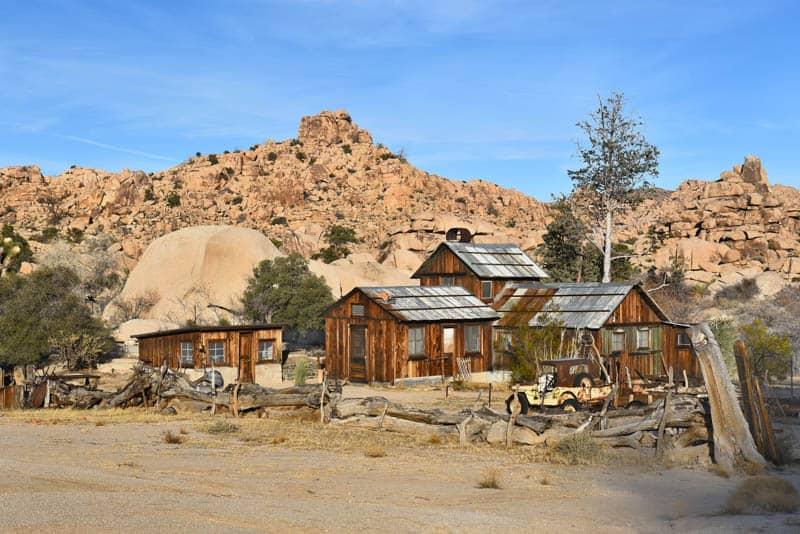 Keys Ranch Joshua Tree NP California