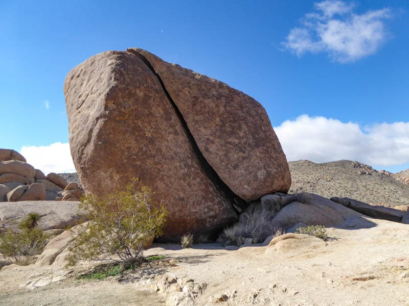 Split Rock Joshua Tree NP Southern California